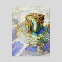 Mana Vault - Acrylic by Kirsten Zirngibl