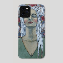 Warrior - Phone Case by Jane Spakowsky