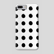 dots - Phone Case by Brock Wilson