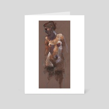 nude - Art Card by Derek Jones