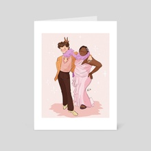 harry & lizzo - Art Card by kc (peachkco)