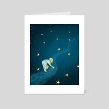Stars - Art Card by Laia Pampols
