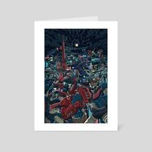 Mechapolis - Art Card by Ian Wenstrand