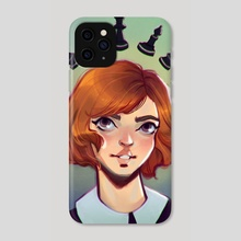 Queen's gambit - Phone Case by Tatiana Machado