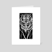 tiger - Art Card by kathi ha