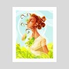 Rey of Sun - Art Print by Alexa Eve