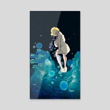 Super Monroe No.1 - Acrylic by Eerina Hart