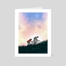 Whisper of The Hearts - Art Card by Deny Saputra