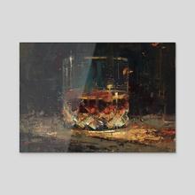 Cheers!  - Acrylic by Allison Gloe