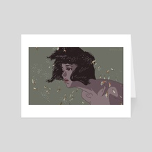 Perfect Blue - Art Card by env.ie
