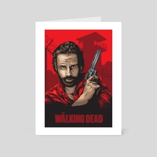 Rick Grimes TWD - Art Card by Denis O'Sullivan