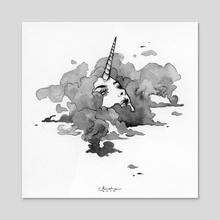 Just a Cloud - Acrylic by Audra Auclair