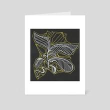 Rose Quartz 2 - Art Card by Leah Rich