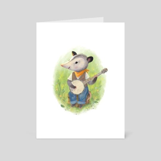Banjo Pluckin' by Jen Bricking