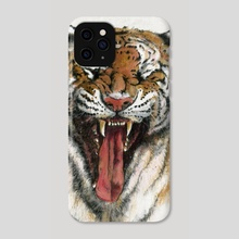Tiger - 3 - Phone Case by River Han