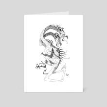 Two-Headed Drake - Art Card by Abigail Harding