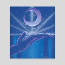 Trueshot Aura - Canvas by Elin Lewis