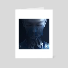 STILLNESS OF HOURS - Art Card by ALTITXDE | Ash Cox