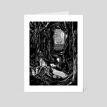 The Woods  - Art Card by Sally Cantirino