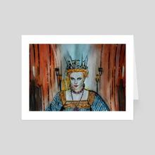 Queen Charlize - Art Card by Anna Shapovalova
