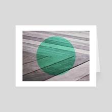 Deck - Art Card by Scott Garner
