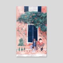 happy spring - keith & lance - Acrylic by hazenheim