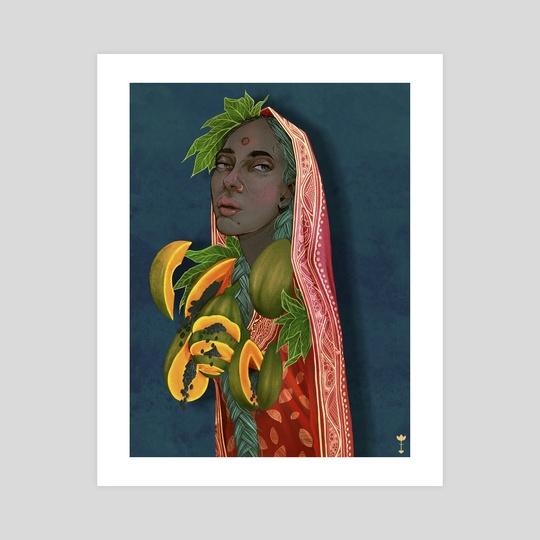 Papaya (Pempe)  by Navid Rahman