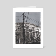 Linden Street 002 - Art Card by Christian MacNevin