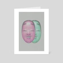 TWIN - Art Card by Henry Wildman