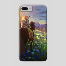 Breath of the Wild  - Phone Case by Kayleigh Fine