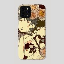 rose boy - Phone Case by doobashmurp