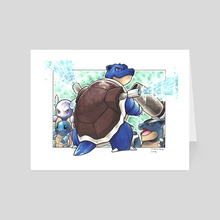 Blastoise  - Art Card by Odin
