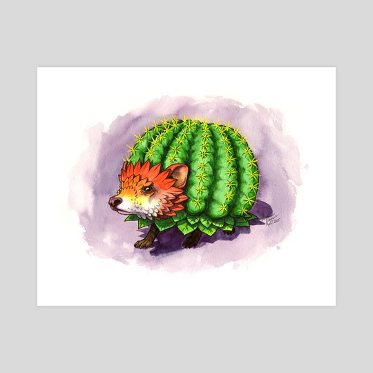 Cactus Hedgehog by Jessica Pryor