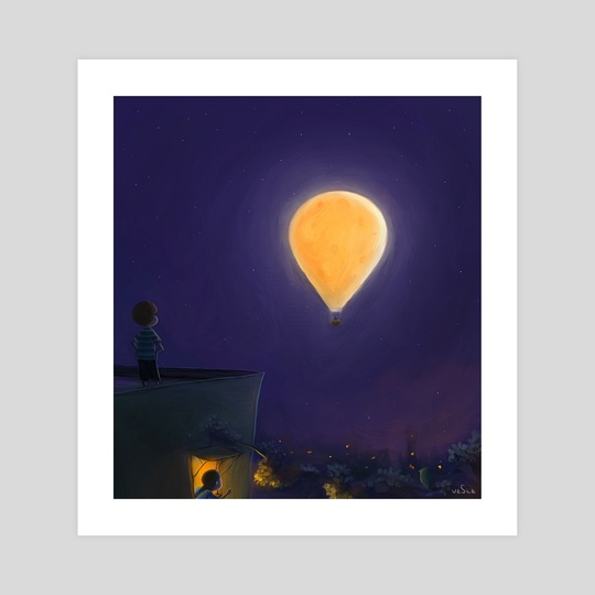 Mon is a balloon by VESLE