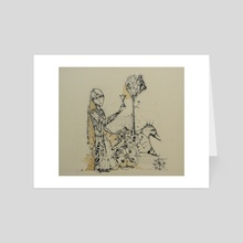 Time - Art Card by Dmitriy Gorin