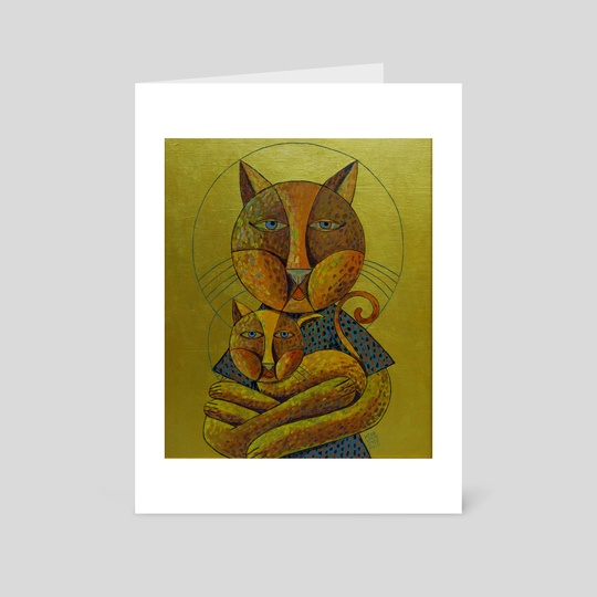 The Holy Mother Cat by Igor Ponochevny