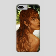 the water's clean and warm and green - Phone Case by harteus