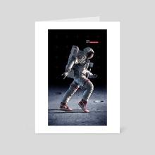 Moon Walker - Art Card by Devin Schoeffler