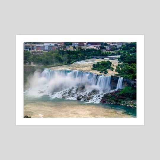 Niagara Falls at Dusk by Alex Tonetti