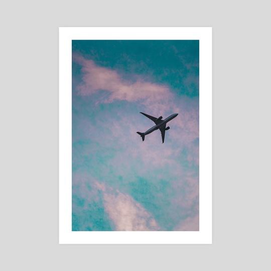 golden hour flight by Alex Liscio