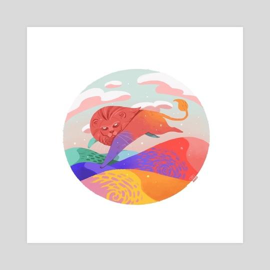 Death of a thousand colors by Andrea de Castro