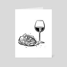 Motherfocloir: Spicebag - Art Card by Kirsten Shiel