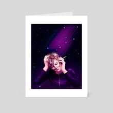 Among the Stars - Art Card by Li Didkovsky