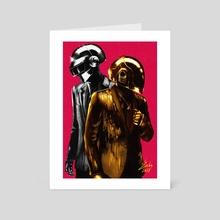 Music got me feeling so free - Art Card by Salomée LUCE-ANTOINETTE