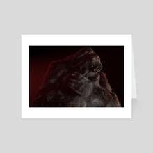 Bloody green hell V-02 - Art Card by  Rowena  Frenzel