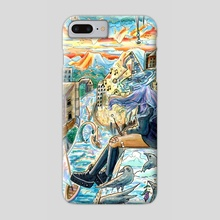 If I Want To Sit On The Roof, That's My Choice - Phone Case by Sophy Mariam