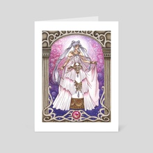 Princess Serenity - Art Card by Fanciful Dewdrop