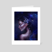 Under Water - Art Card by Sandra Winther