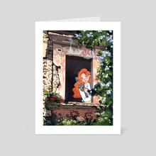 Spring - Art Card by Laura Galarraga