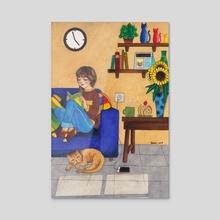 Sunday - Acrylic by Tessa Chen